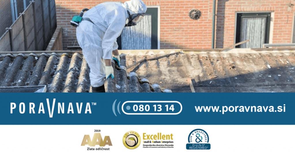 Odškodnina zaradi izpostavljenosti azbestu - Pokličite 080 13 14 1