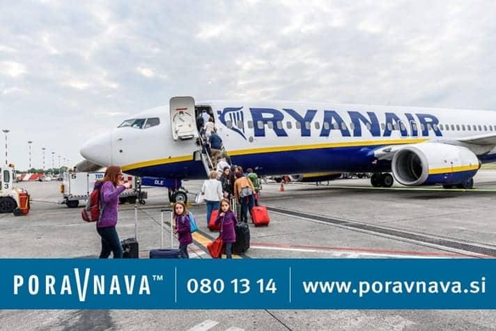Ryanair uvedel plačilo za ročno prtljago 3