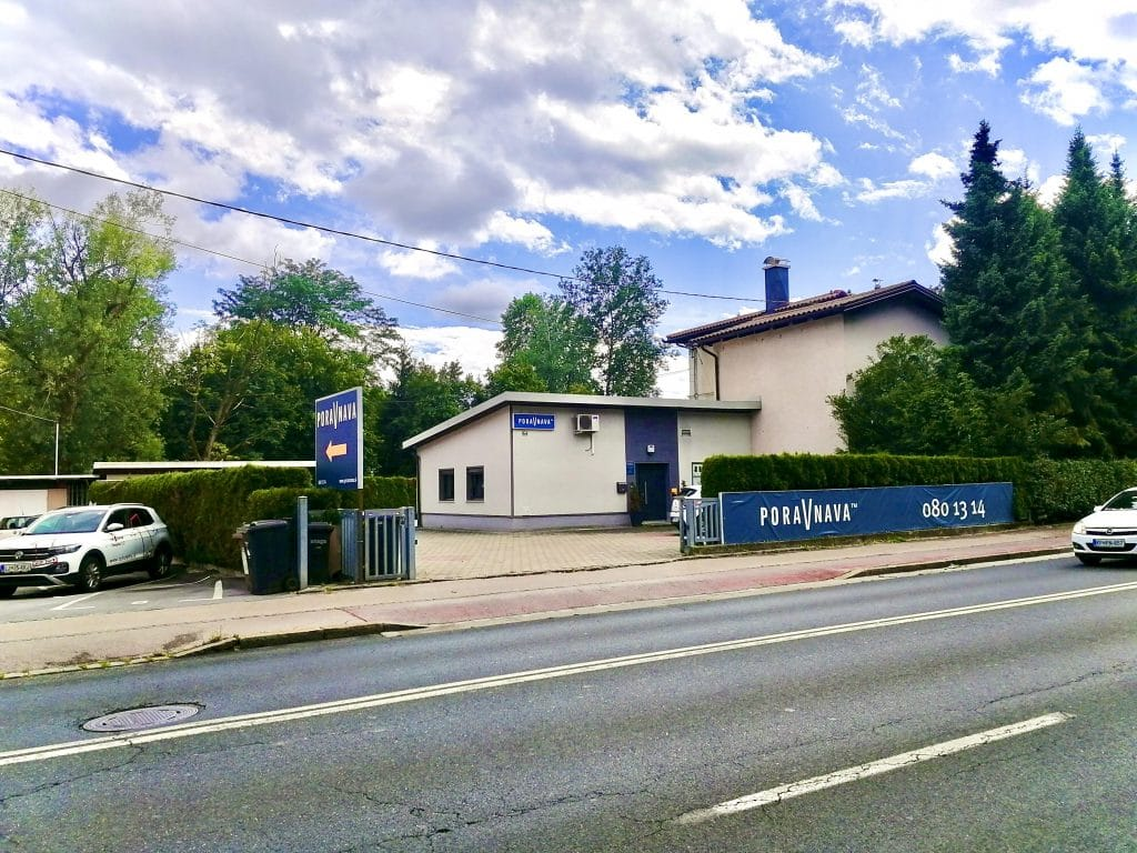 Poravnana Ljubljana - 1. Predstavitev največje poslovalnice 1